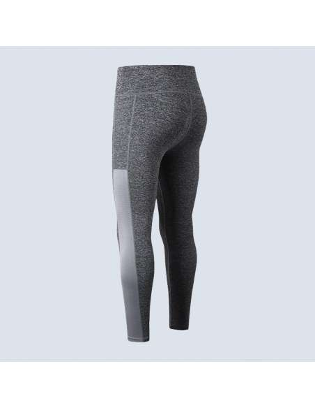 Gray Phone Pocket Leggings (Back View)
