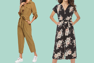 Ladies' Pocket Jumpsuits