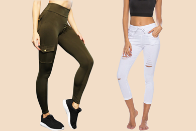 Ladies' Pocket Leggings
