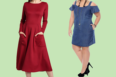 Ladies' Pocket Dresses